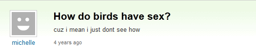 Do Birds Have Sex 102